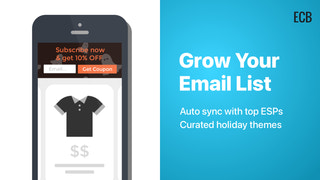Shopify App Email Collection Bar by Hextom Grow Customer Email L