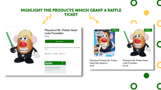 raffle products highlight