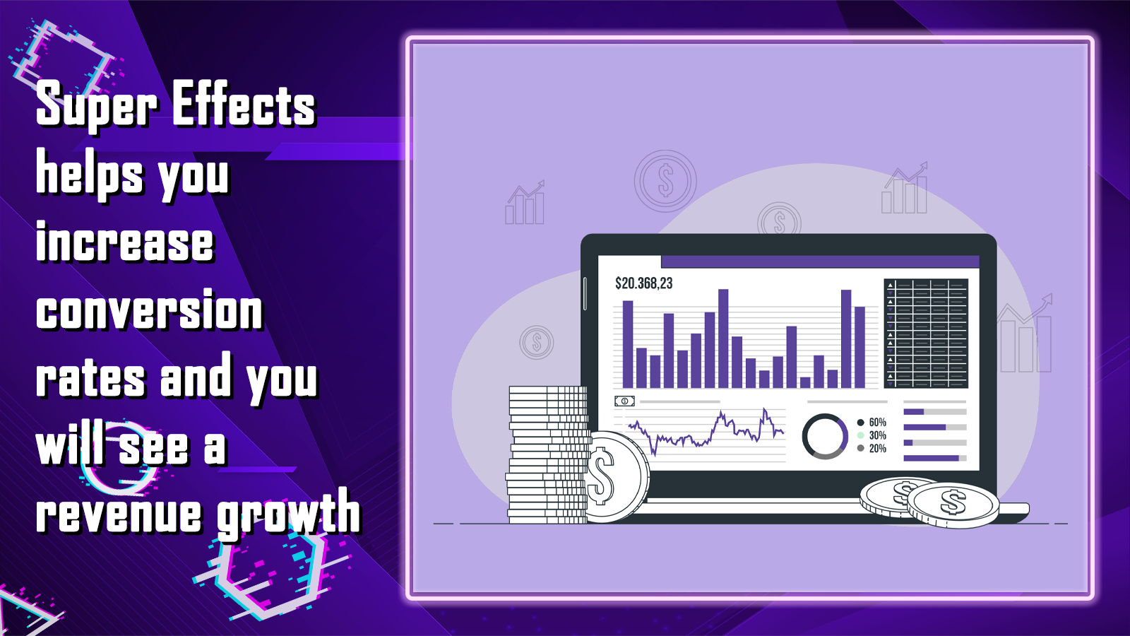 Super Effects helps you grow your seasonal revenue