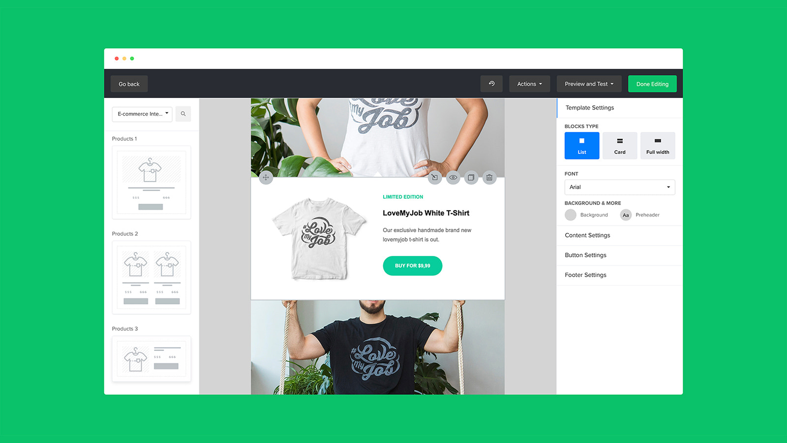 Email Marketing Email Builder for Shopify