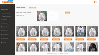 One Click all similar product waiting for import to your store.