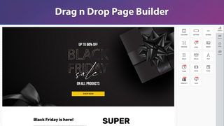 Drag n Drop Page Builder