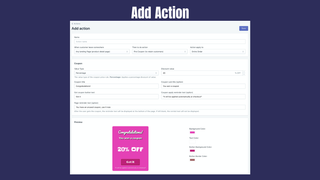 Add leave action