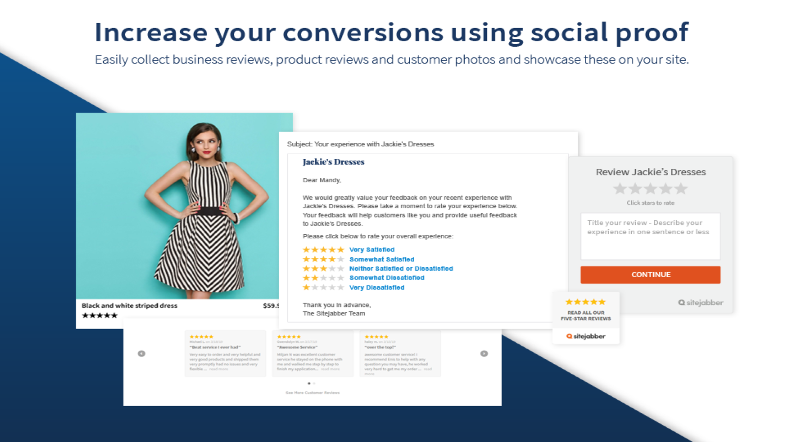 Increase your conversions using social proof
