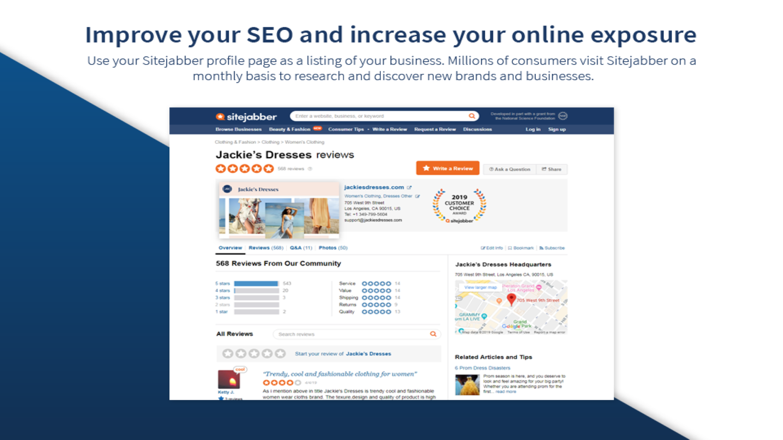 Improve your SEO and increase your online exposure