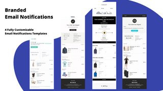 Shopify Branded Email Notifications
