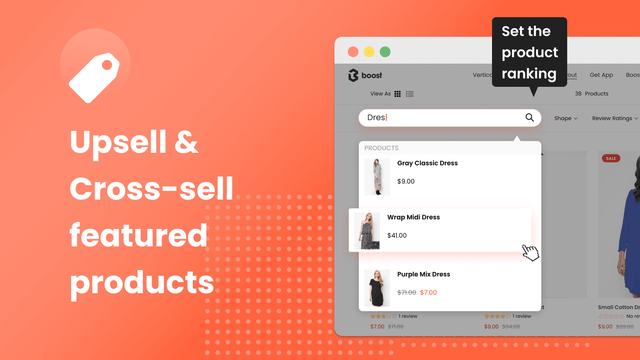 shopify upsell crosssell boost commerce
