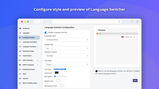 Shopify Translation App Language Switcher