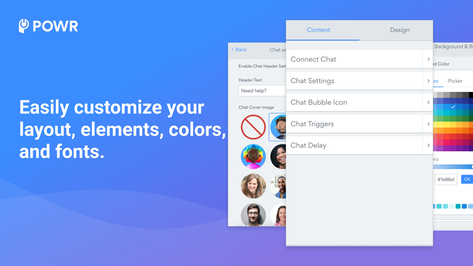 Customize Facebook Chat with colors, fonts, images and a welcome