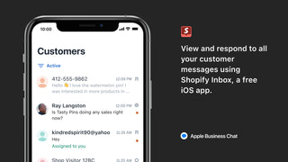 Respond to customer messages using Shopify Inbox