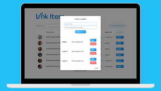 Manage your dropshipping suppliers on linkitem