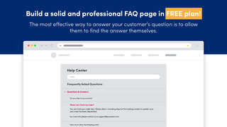 Help center page Free plan