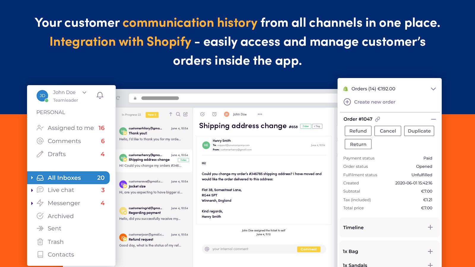 HelpCenter Live Chat for Shopify