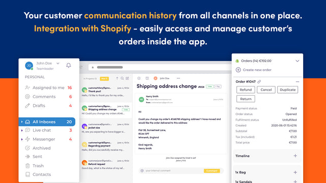Inbox workflow. Download the Android app to your smartphone