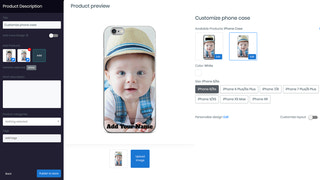 Create product personalizer