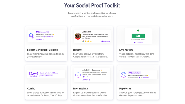 social proof fomo urgency and sales popup notifications