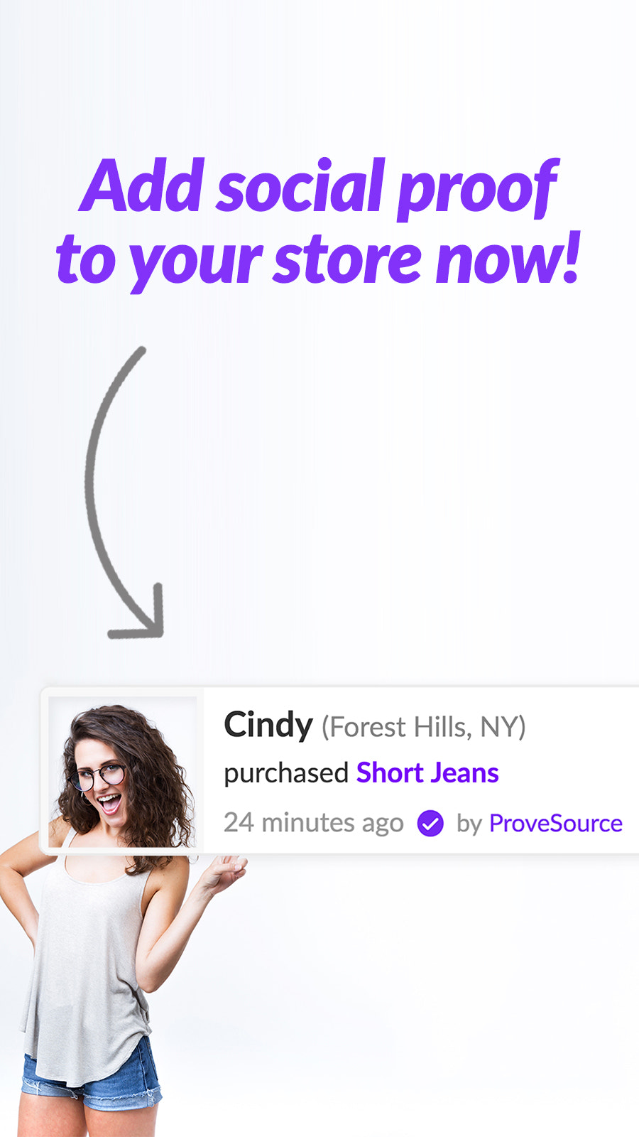 Boost sales pop up notifications with nudgify notifications