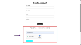 Enable Mobile Login for Customers