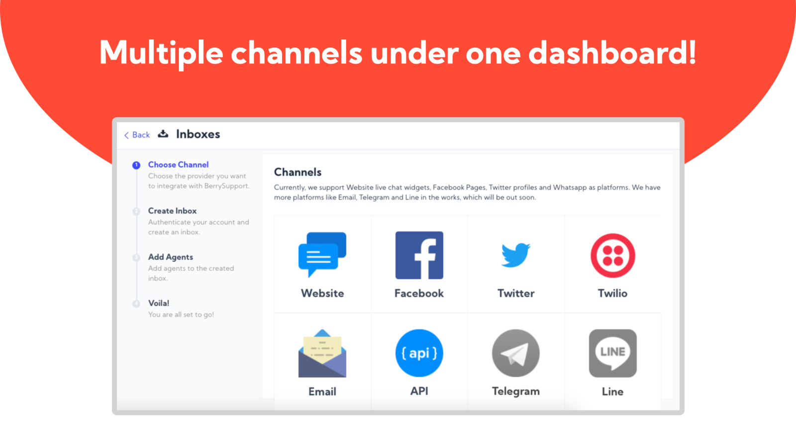 Berry Support All Social Inbox And Chat In One Channel