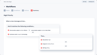 Powerful workflows automate your inbox with Keeping