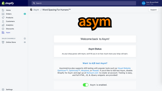 The Asym page