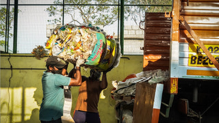 Plastic waste clearance