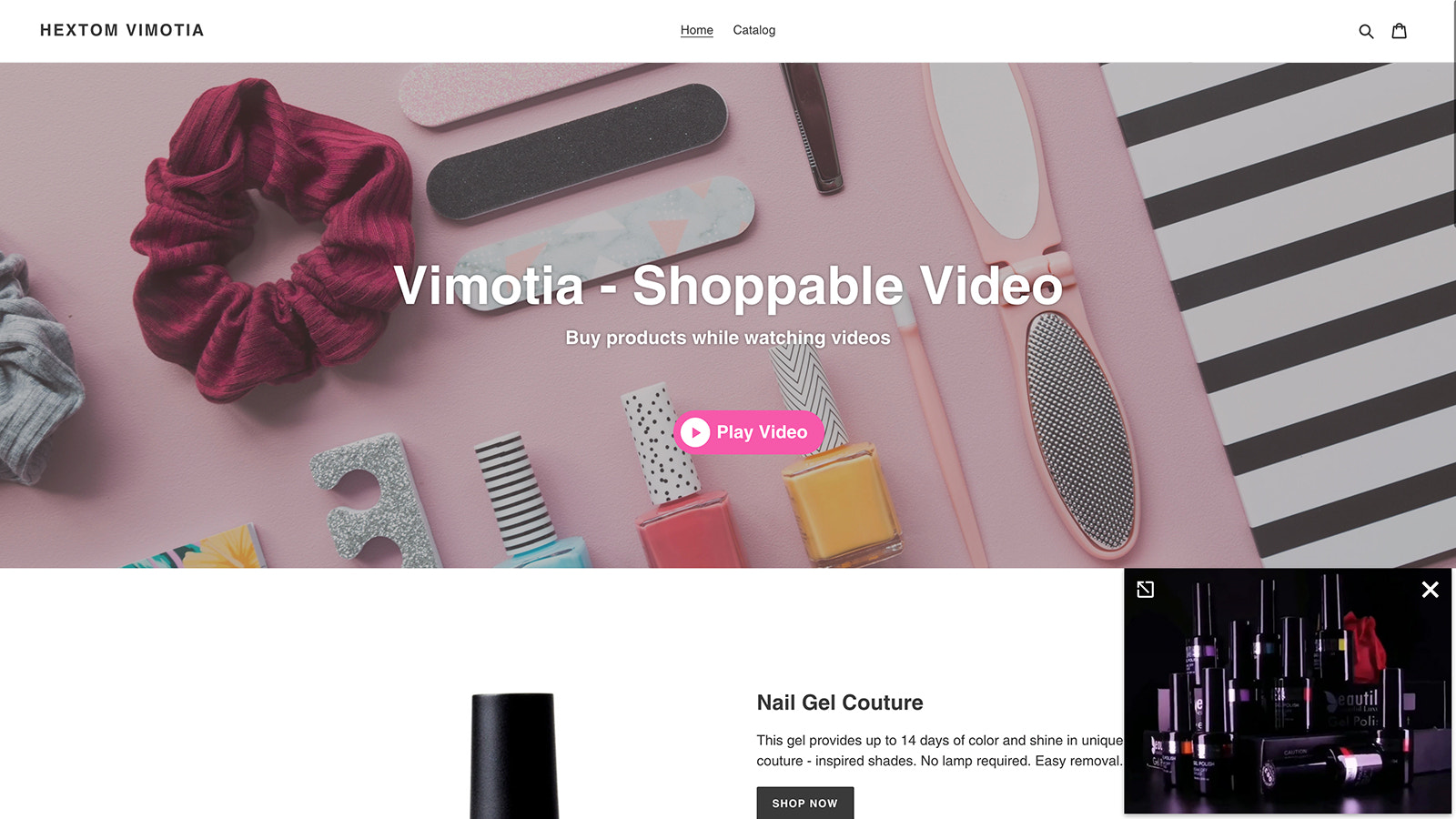 Vimotia Shoppable Video for Shopify - Download Videos