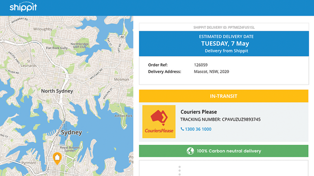 Keep your customers updated with tracking and notifications