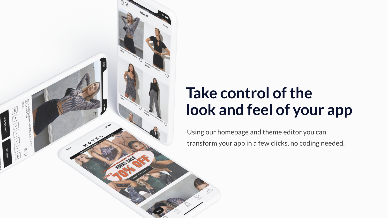 Take control of the look and feel of your apps