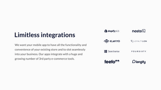 Limitless integrations