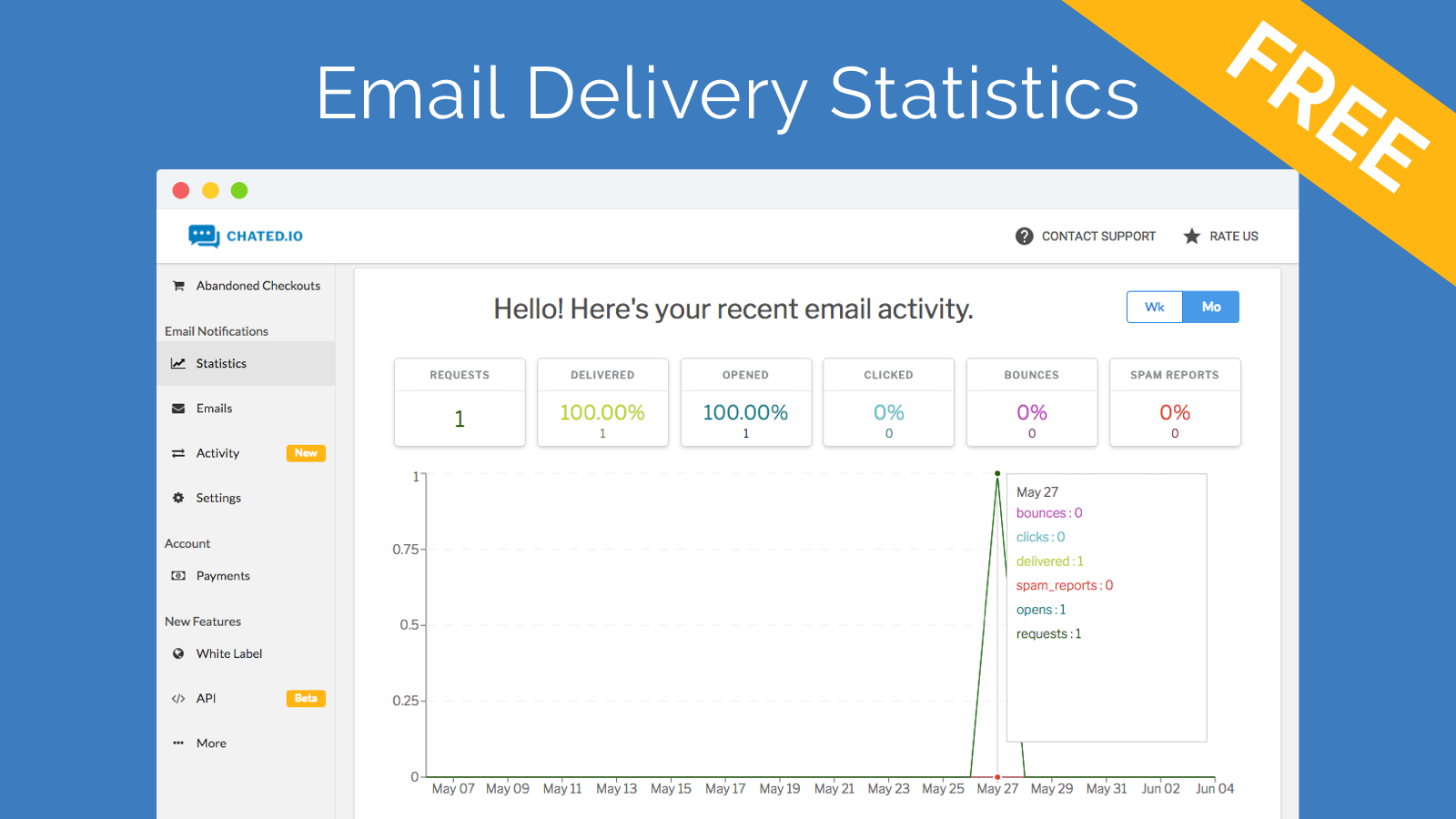 Email Delivery Statistics