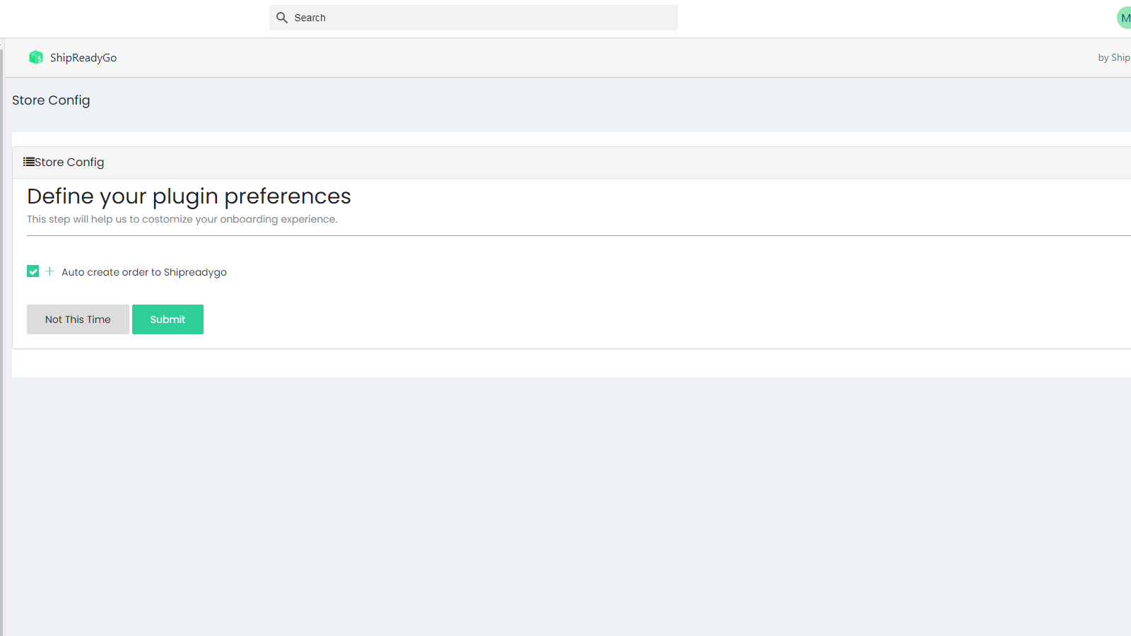 Shopify Function Settings