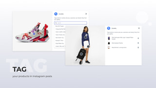 Tag your products in Instagram posts