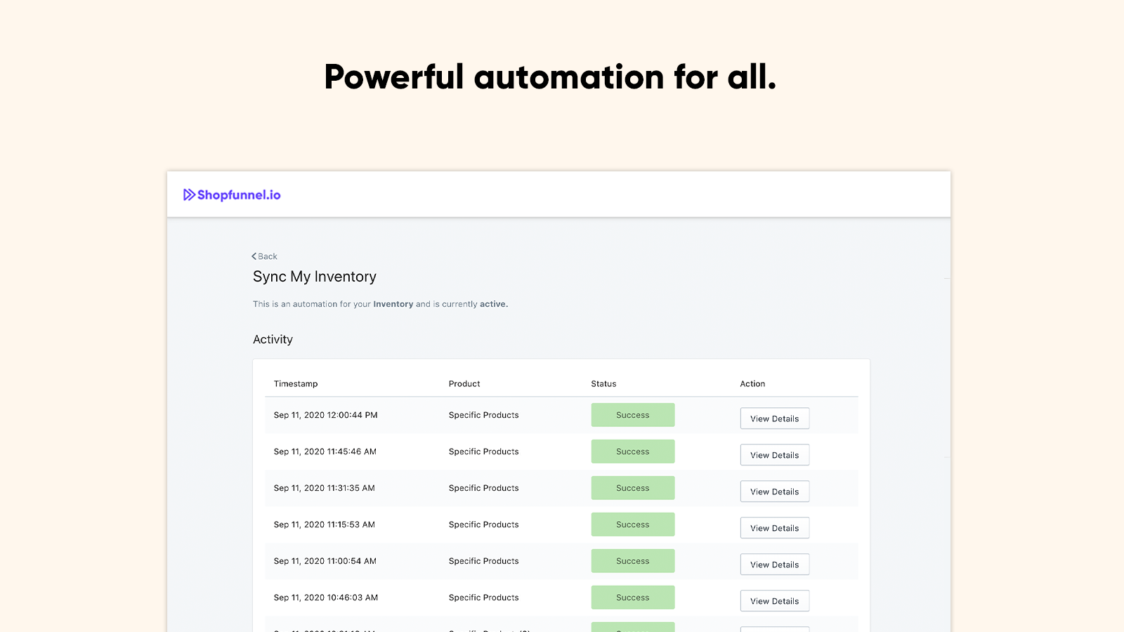 Sync Shopify Etsy Inventory automatically