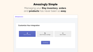 shopify etsy integration app shopfunnel link and connect