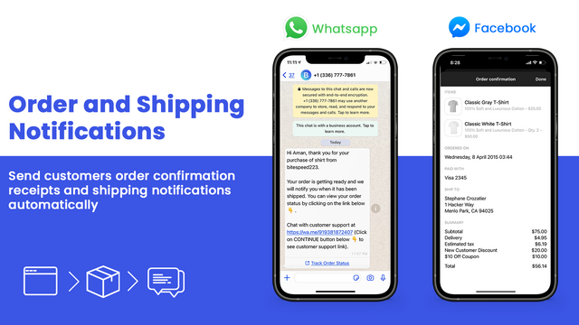 Order Updates & Shipping Notifications