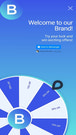 Spin The Wheel Popup Mobile View