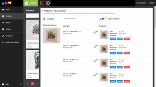Sync your exisiting Shopify listings to Art of Where