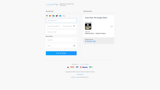 Complete a payment at LianLianPay Checkout