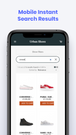 Mobile Instant Search Experience