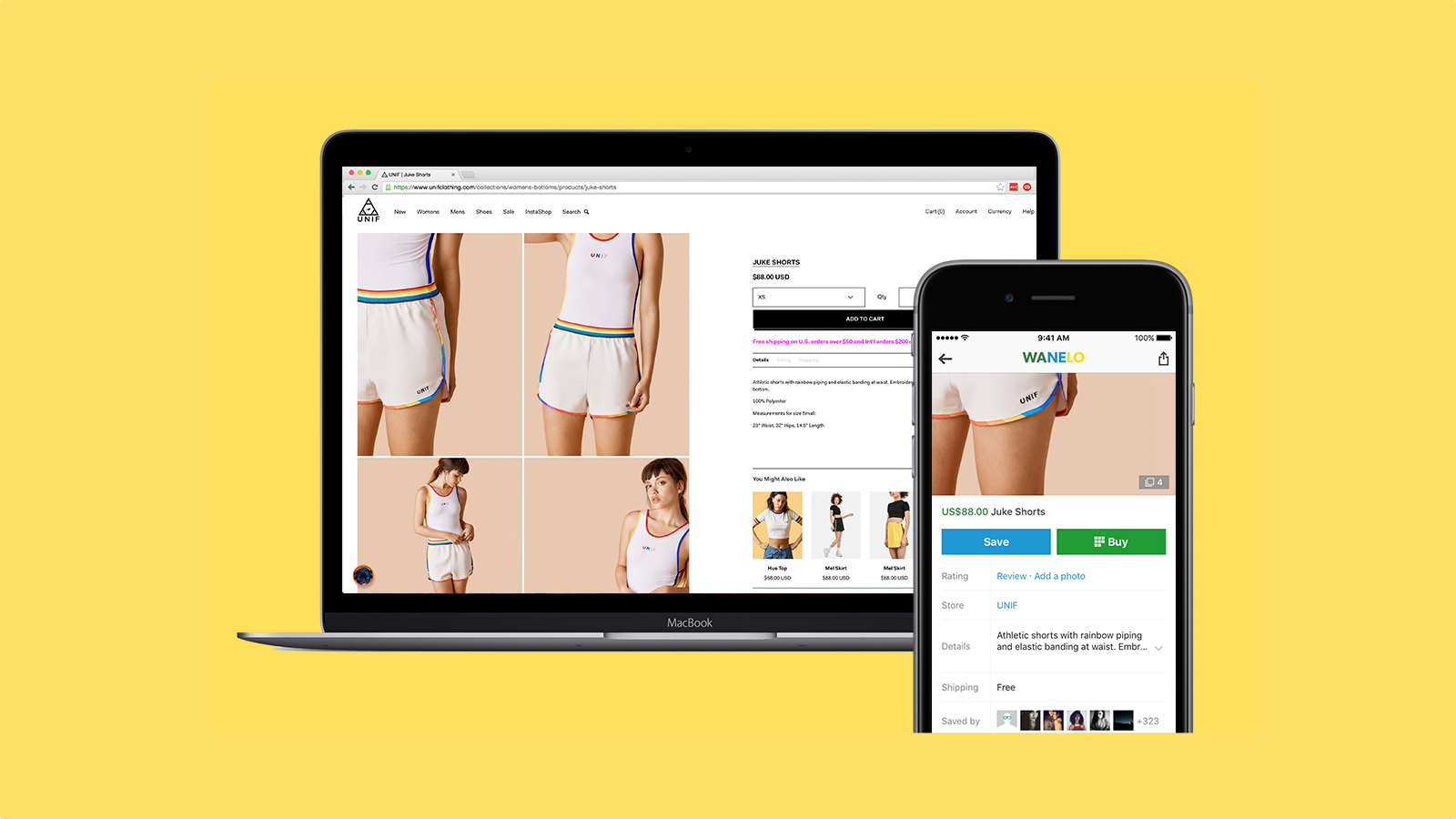 Seamlessly list your store's products on Wanelo