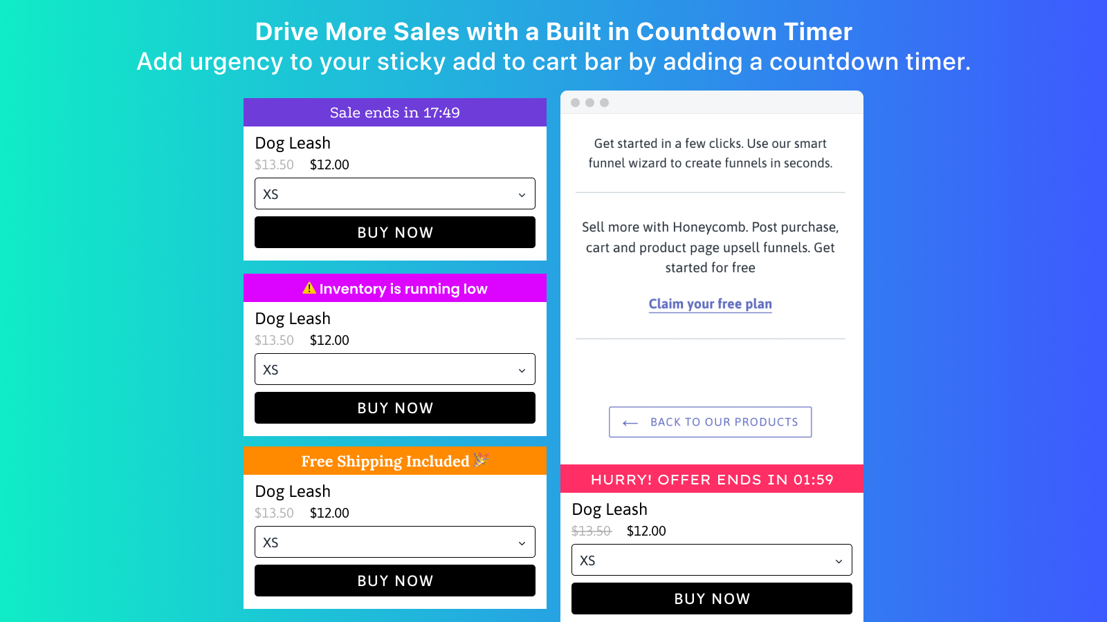 Conversion Bear Ultimate Sticky Add to Cart On Mobile