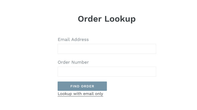 Simple and intuitive interface for your customers