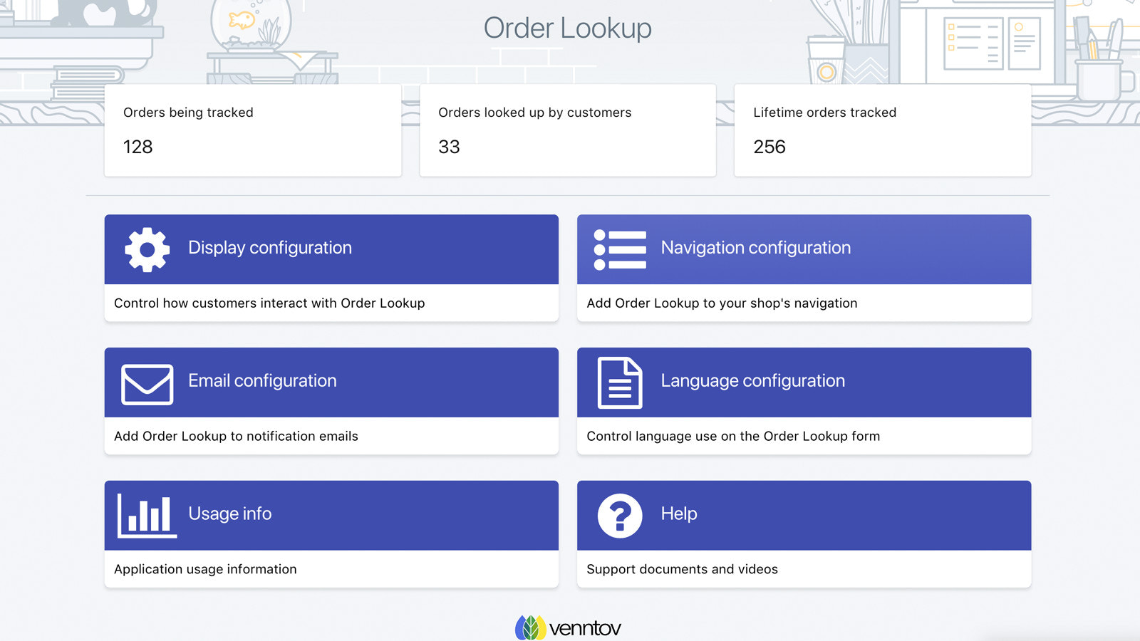 Easy-to-use Order Lookup admin tools for desktop