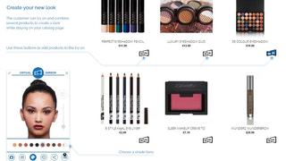 Try on products while browsing