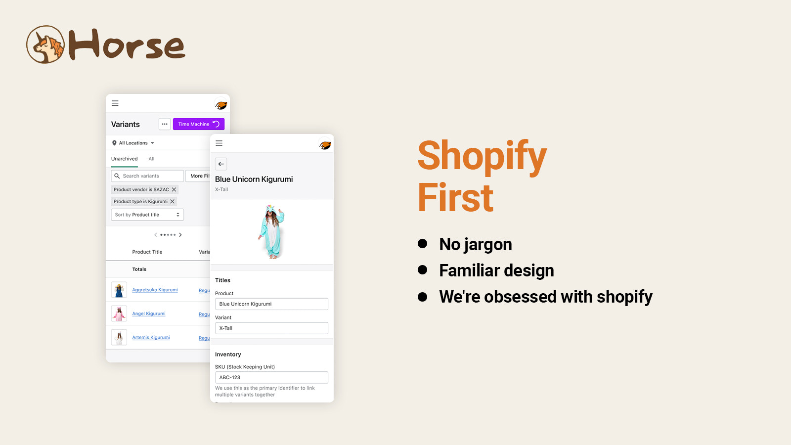 Shopify first