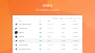 litextension neto import to shopify migration completed