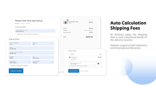 Automated Shipping Rate Calculation