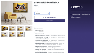 Canvas product