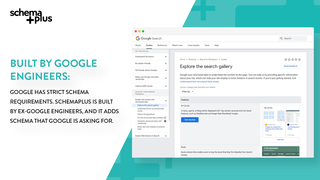 SchemaPlus is built by Google engineers